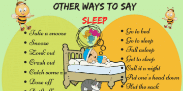 """50+ Different Ways to Say """"I'm Going to Sleep"""" in English 9"""