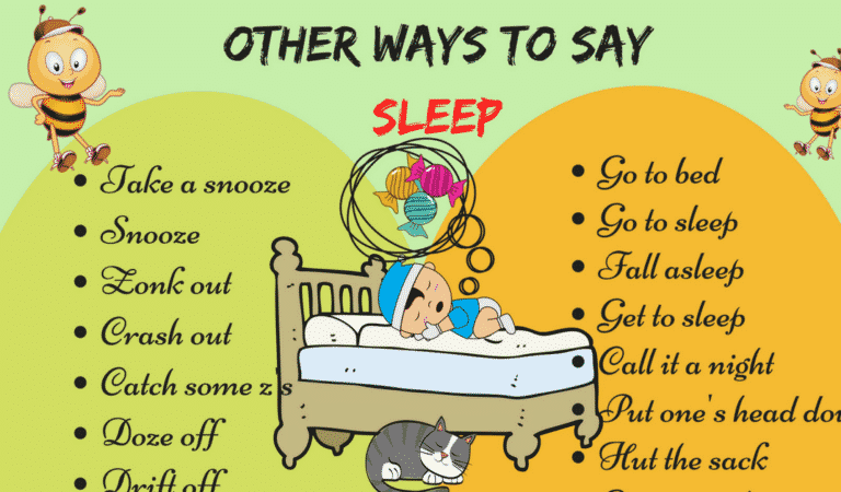 50+ Different Ways to Say I'm Going to Sleep in English