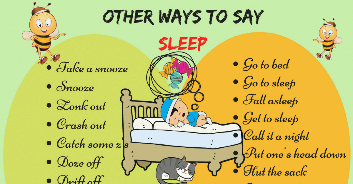 50+ Different Ways to Say I'm Going to Sleep in English 5