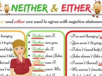 The Difference between NEITHER and EITHER 16
