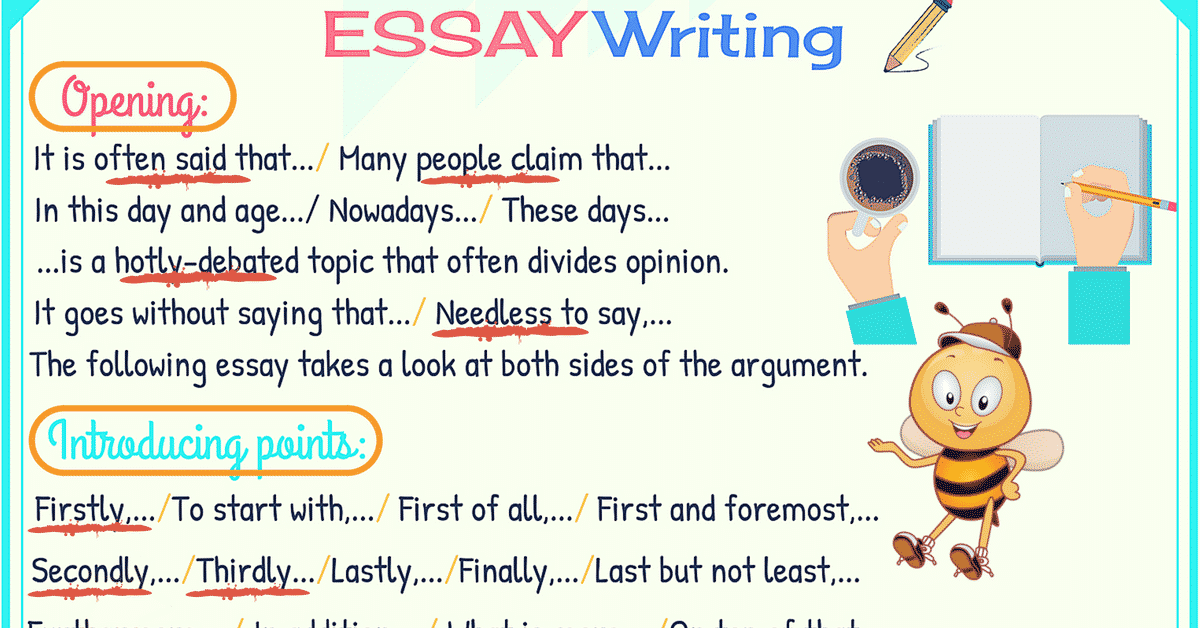 How to Write a Great Essay Quickly! 7