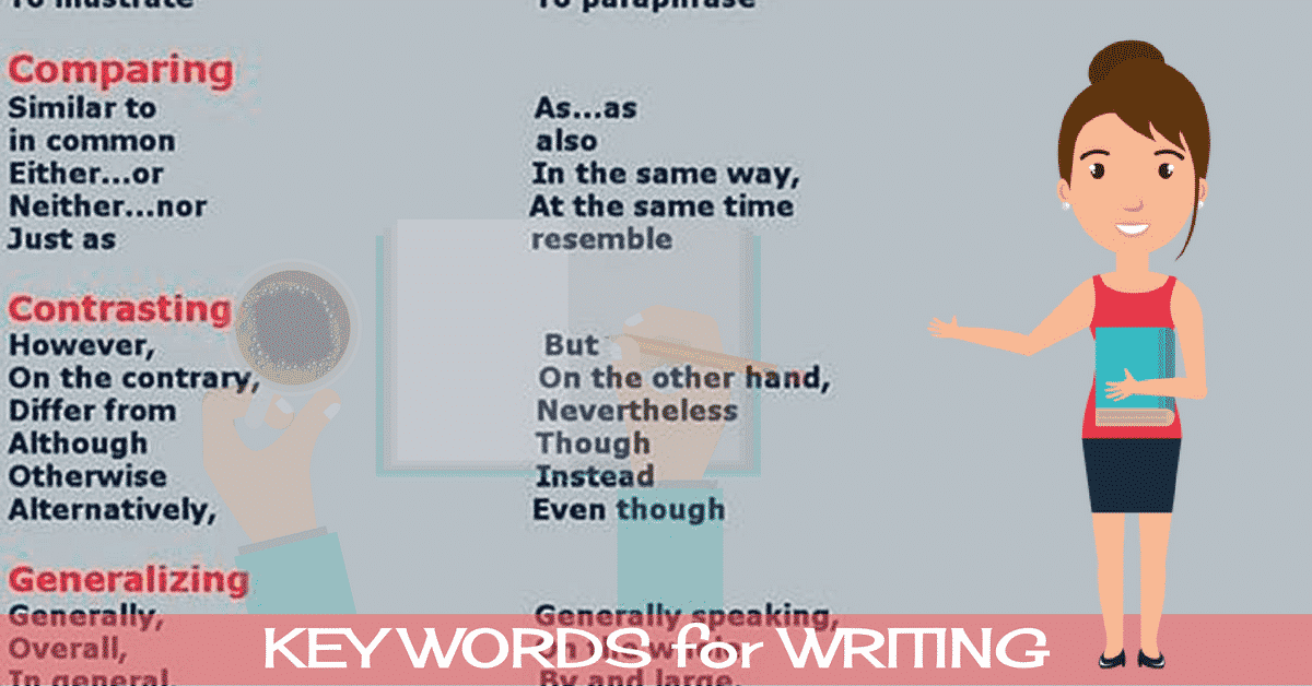 100+ Useful Words and Phrases to Write a Great Essay 6