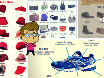 Fashion Accessories Vocabulary in English 13