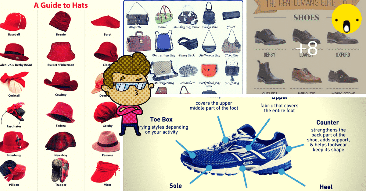 Fashion Accessories Vocabulary in English 7