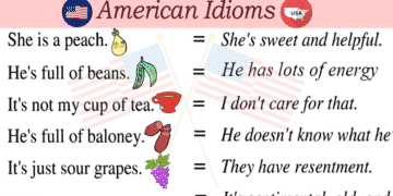 30+ Common American Idioms You Need to Know 23