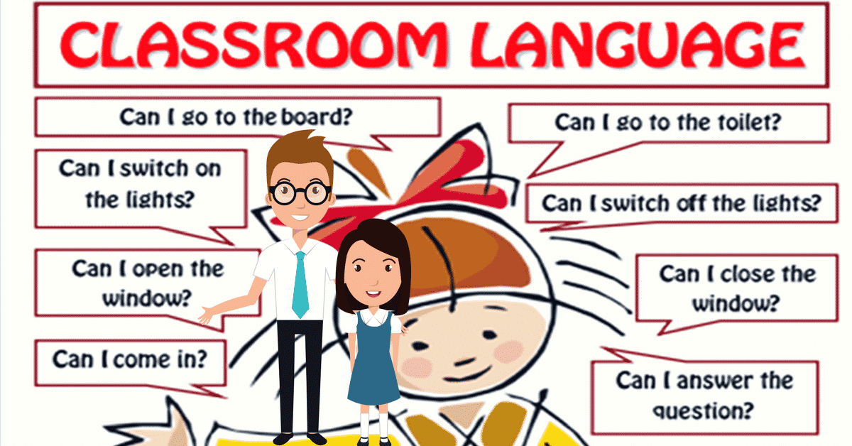Classroom Language For Teachers and Students of English 8
