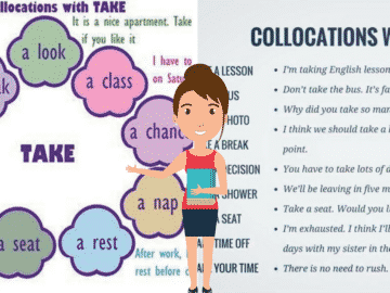 50+ Common Collocations with TAKE in English 14