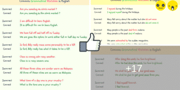 150+ Common Grammatical Errors in English 4