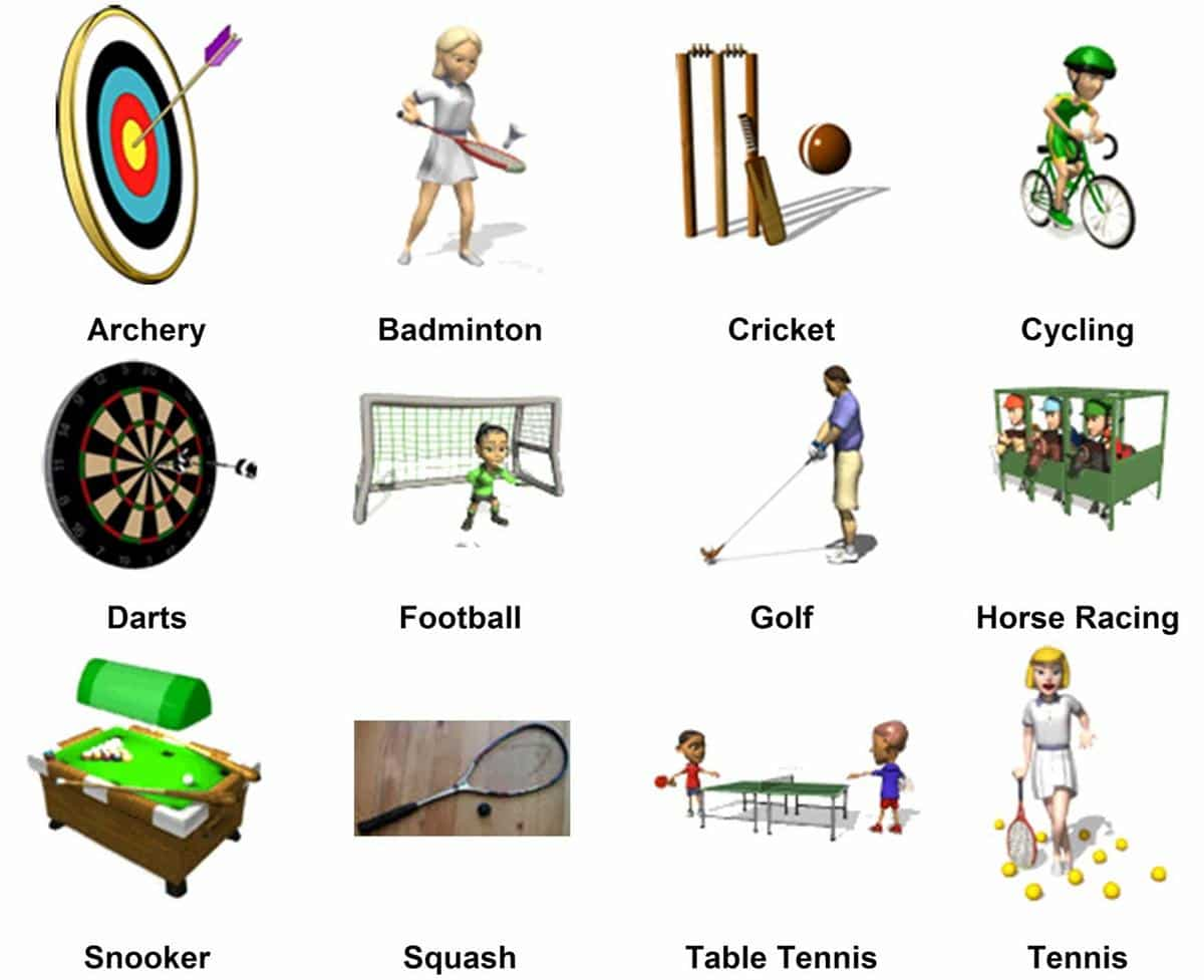 Sports Vocabulary for English Learners 4
