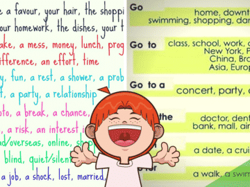Common Verb Collocations in English 14