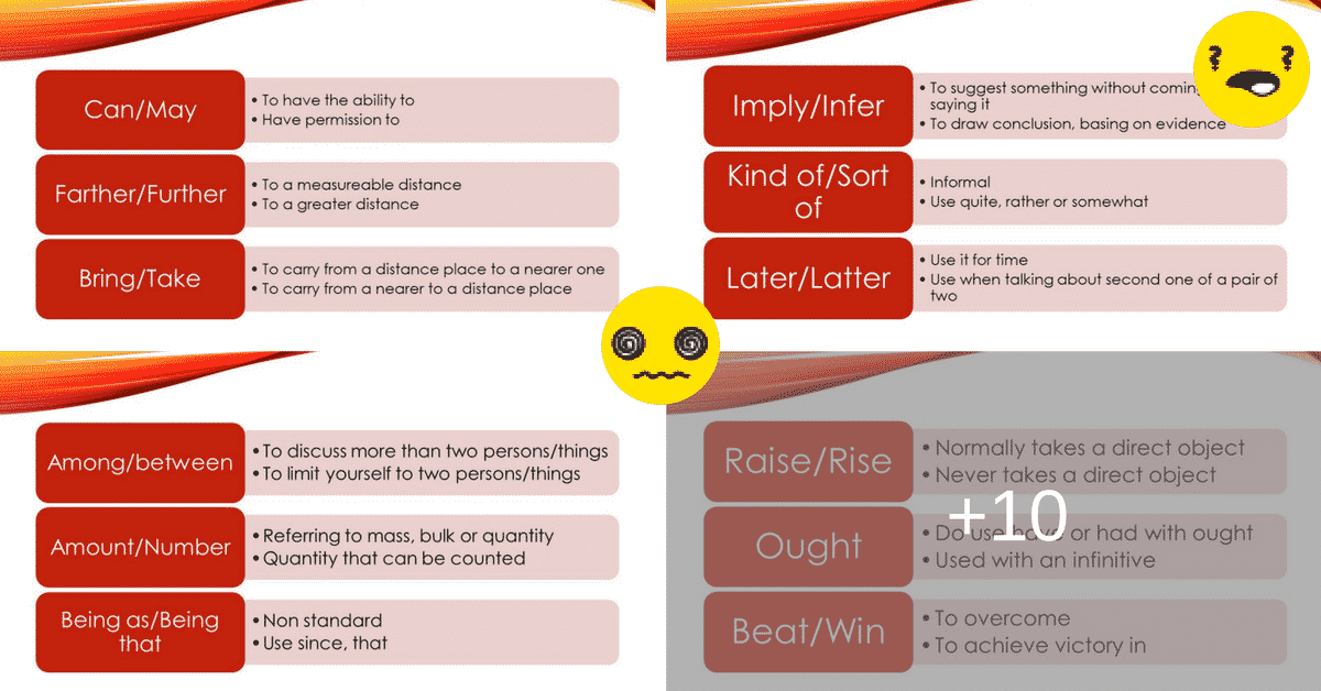 Commonly Confused Words: Useful List and Examples