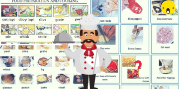Useful Cooking Verbs in English 1