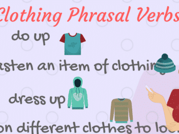 20+ Useful Phrasal Verbs Relating to Clothes 12