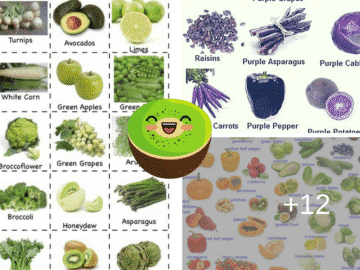 Fruits and Vegetables Vocabulary in English 18