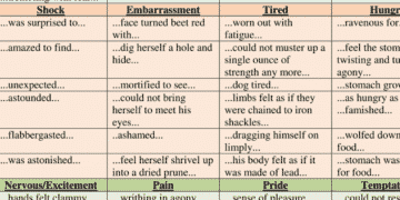 Useful Words and Phrases to Describe How You Feel in English 16