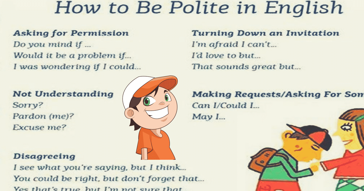 How to Be Polite in English! with Useful Expressions 4