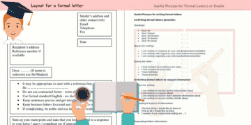 How to Write a Formal Letter in English 5