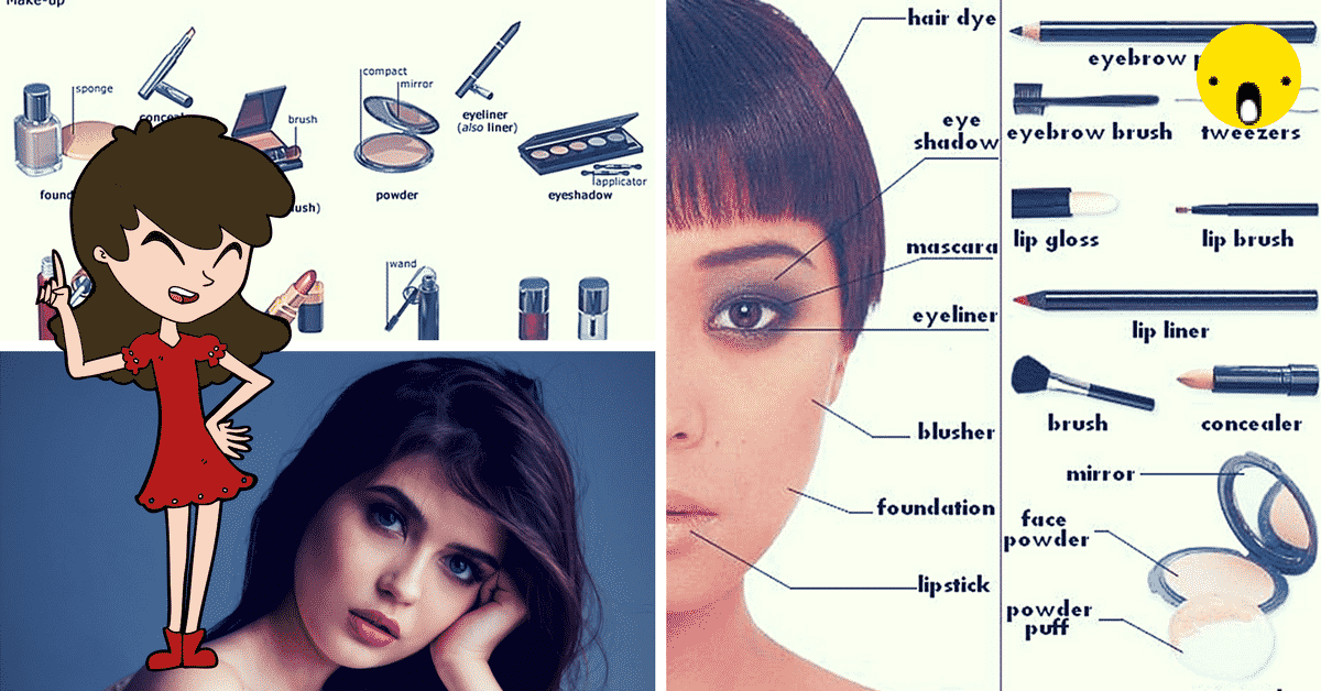 Make-up and Cosmetics Vocabulary in English 9