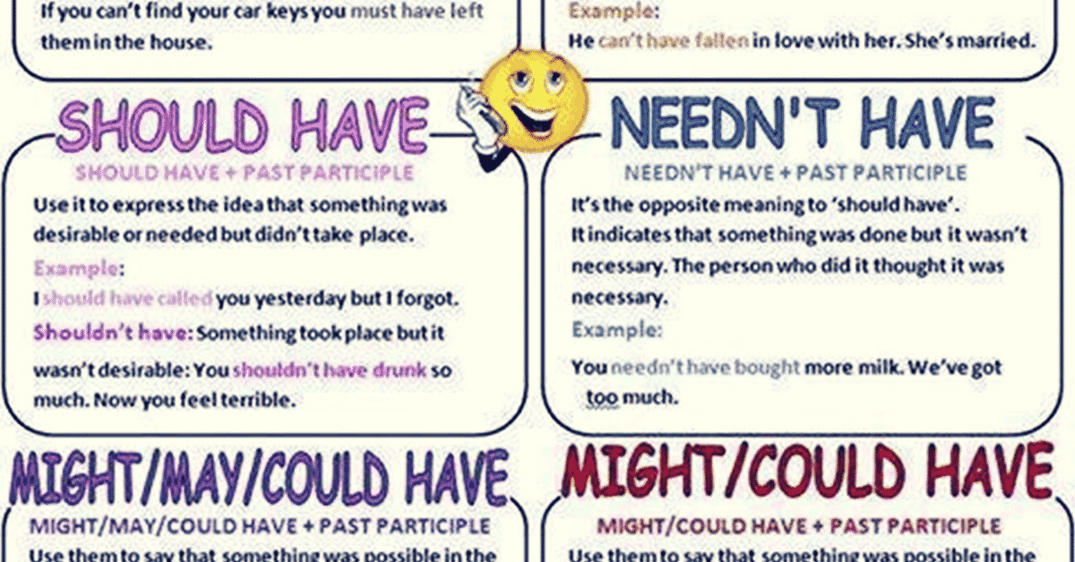Using Perfect Infinitives with Modal Verbs | English Grammar 2