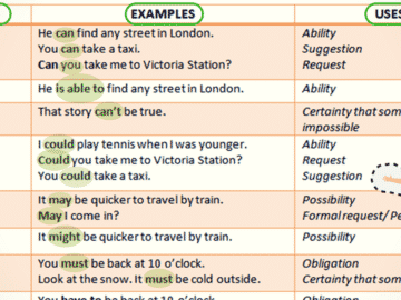 Modal Verb in English Grammar 15