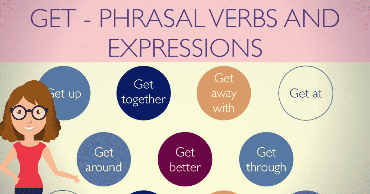 Commonly Used Phrasal Verbs with GET in English (with Meaning and