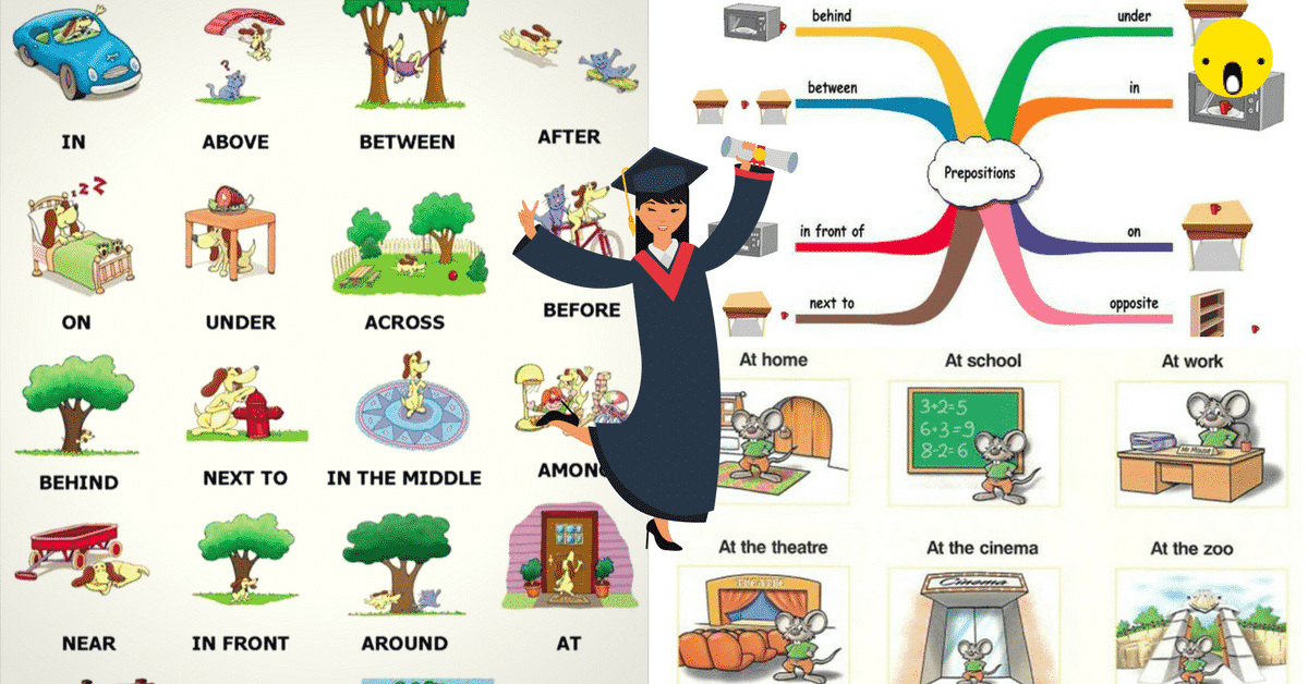 English Grammar: Prepositions of Place 6