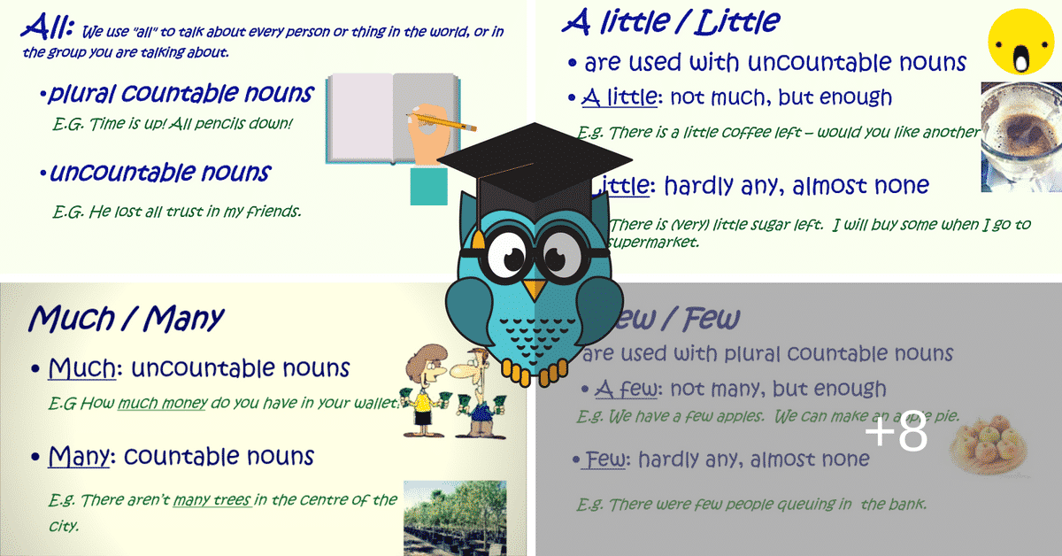 How Much Do You Know about Quantifiers? 4