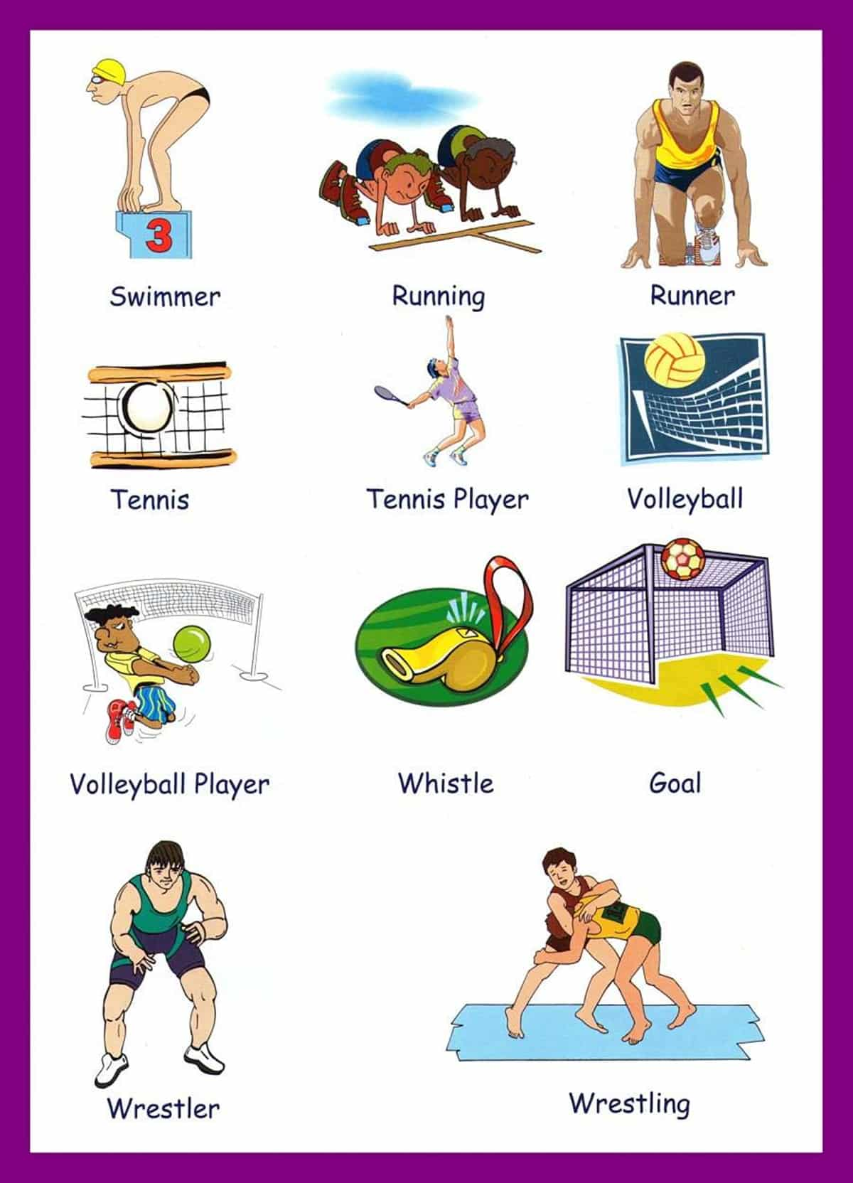 Sports Vocabulary for English Learners 3