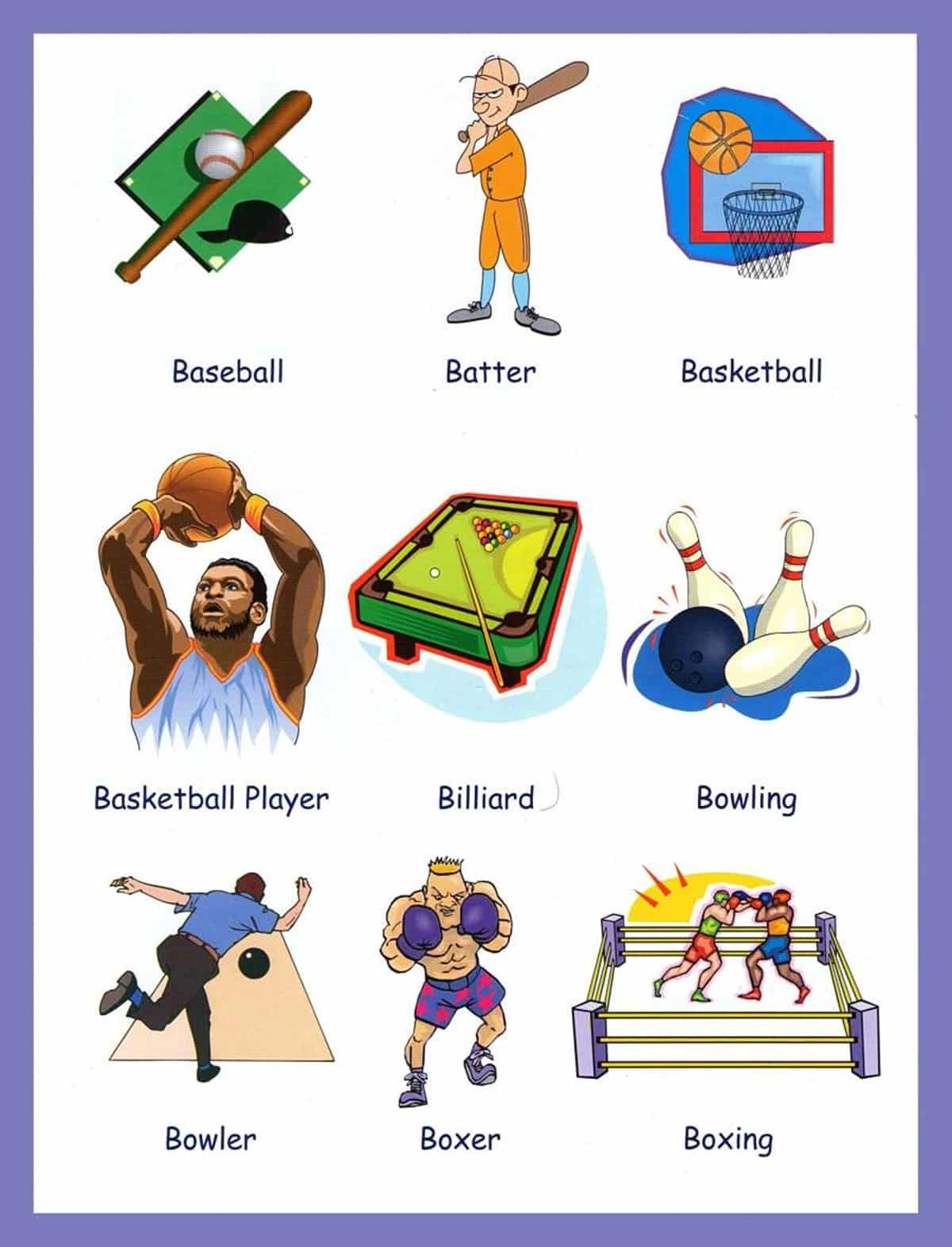 Sports Vocabulary for English Learners 2