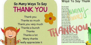 30+ Delightful Ways to Say THANK YOU in English 11