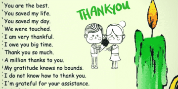 Other Ways to Say THANK YOU in Different Situations 11