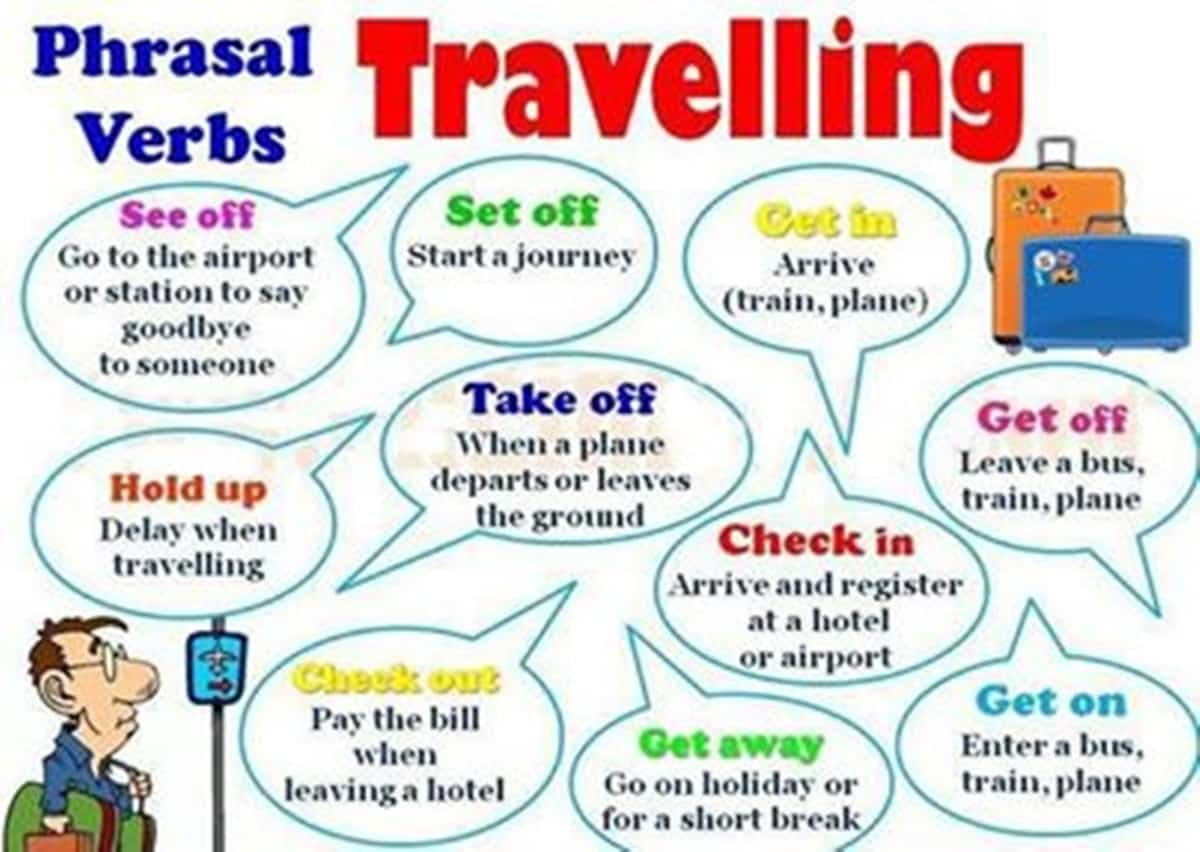 Phrasal Verbs for Travelling | Relationships and Travelling