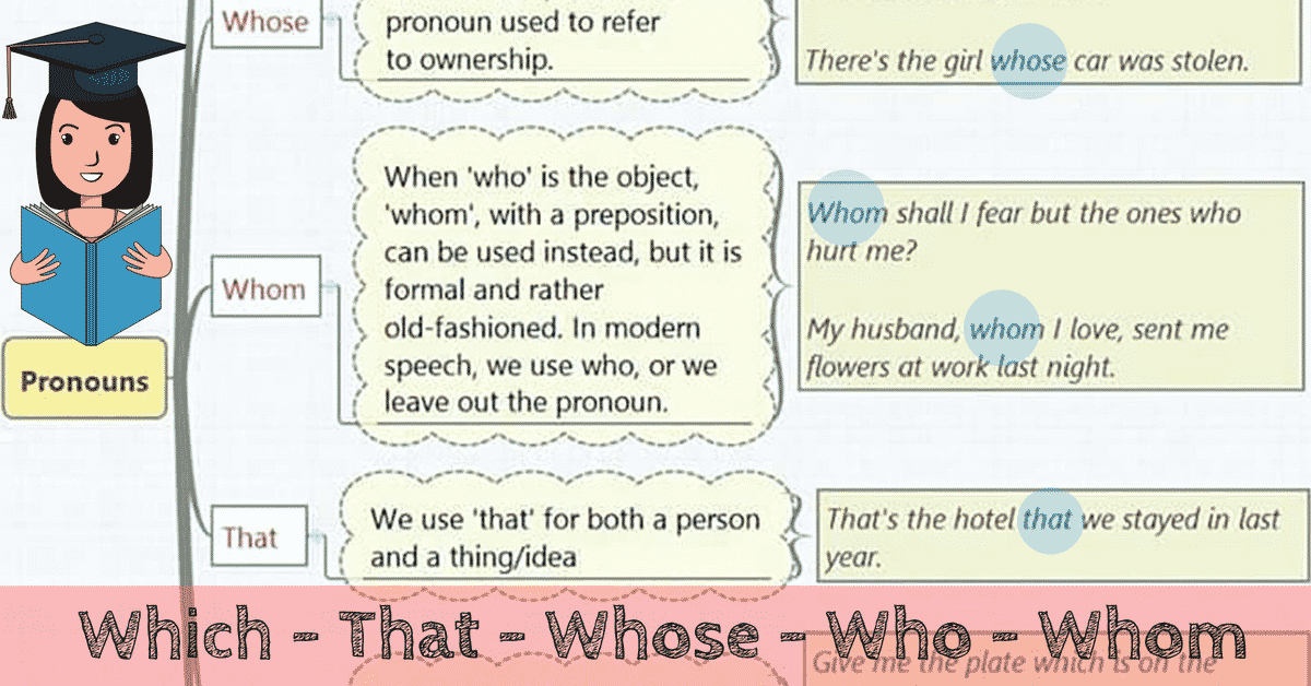 English Grammar: Relative Pronouns 5