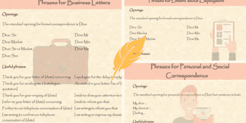Useful Phrases and Vocabulary for Writing Letters in English 29