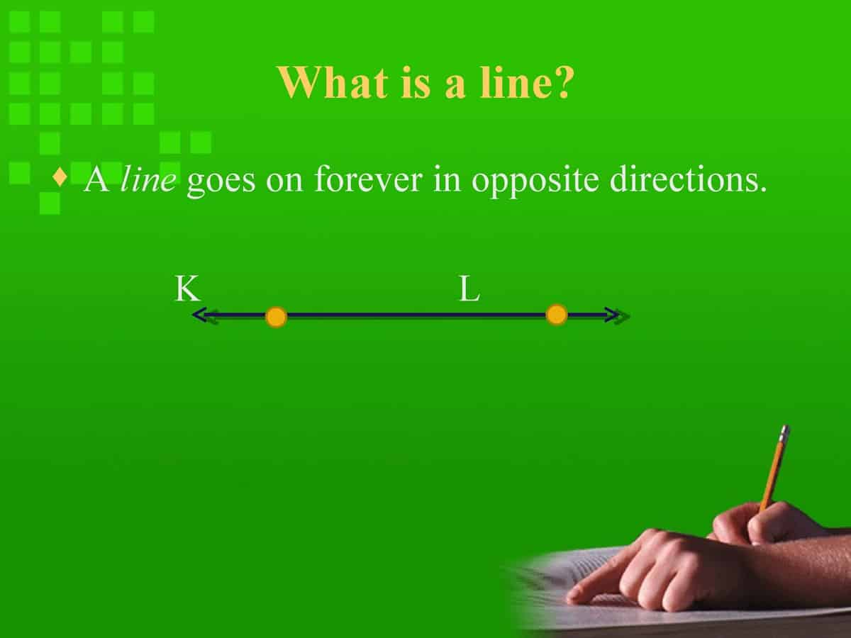 English Vocabulary: Lines and Angles 3