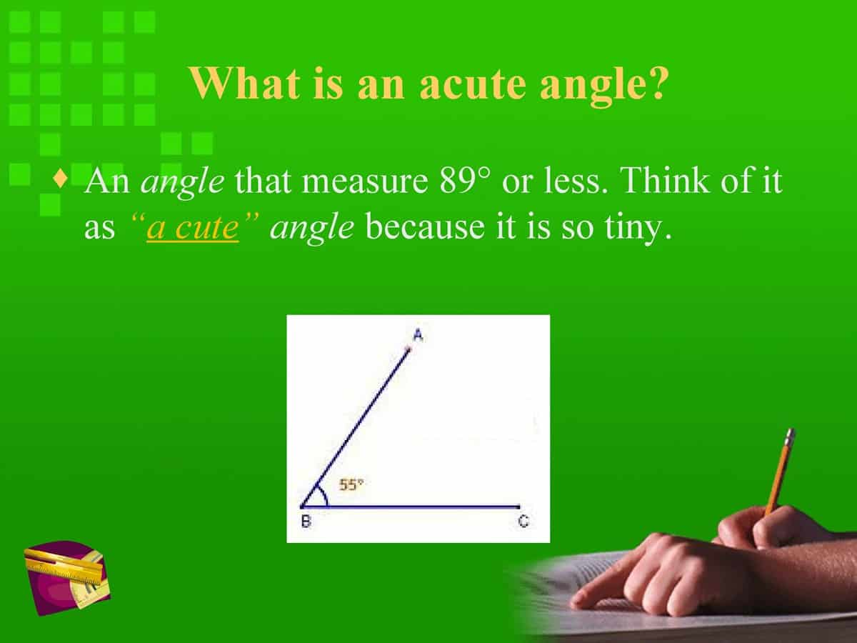 English Vocabulary: Lines and Angles 15