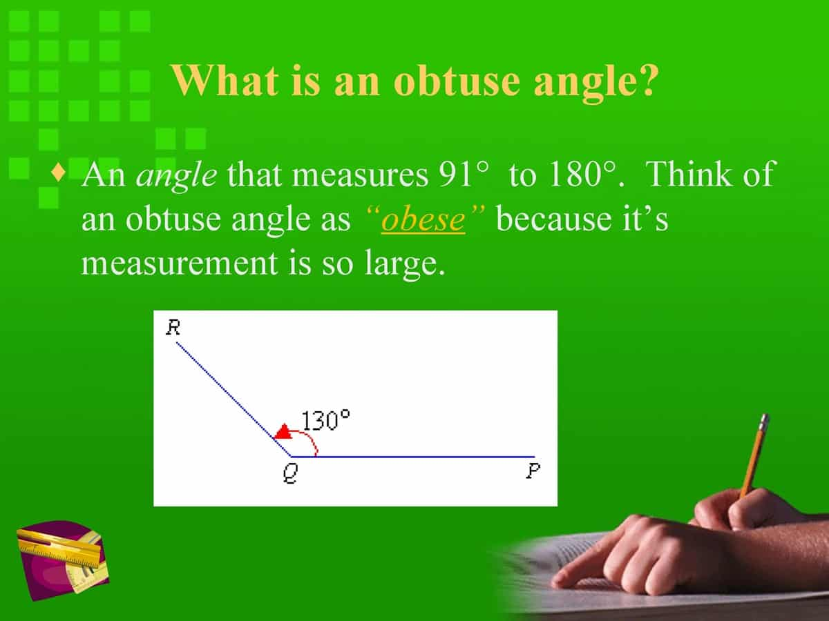 English Vocabulary: Lines and Angles 16