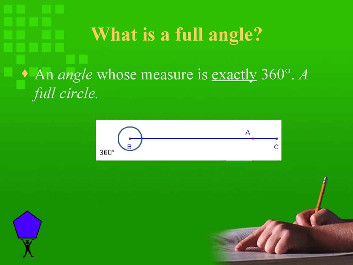 English Vocabulary: Lines and Angles 18