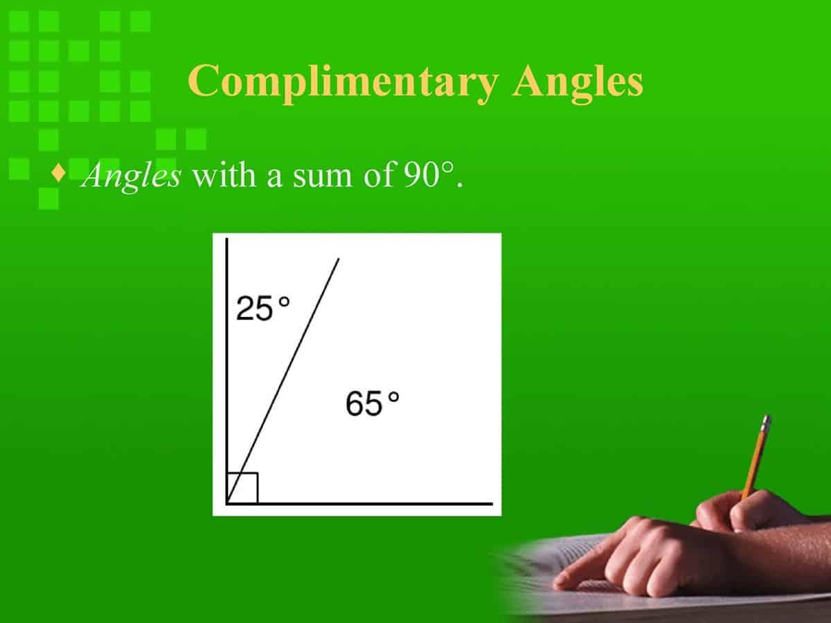 English Vocabulary: Lines and Angles 33