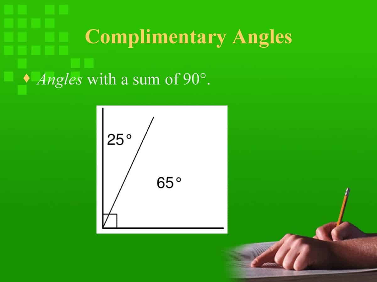 English Vocabulary: Lines and Angles 21