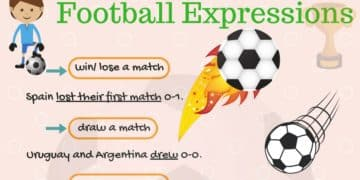 Common Football Expressions and Idioms in English 10