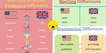 American and British English: What Are The Differences? 3