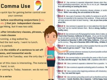 Rules for Comma Usage: How to Use Commas Correctly! 7