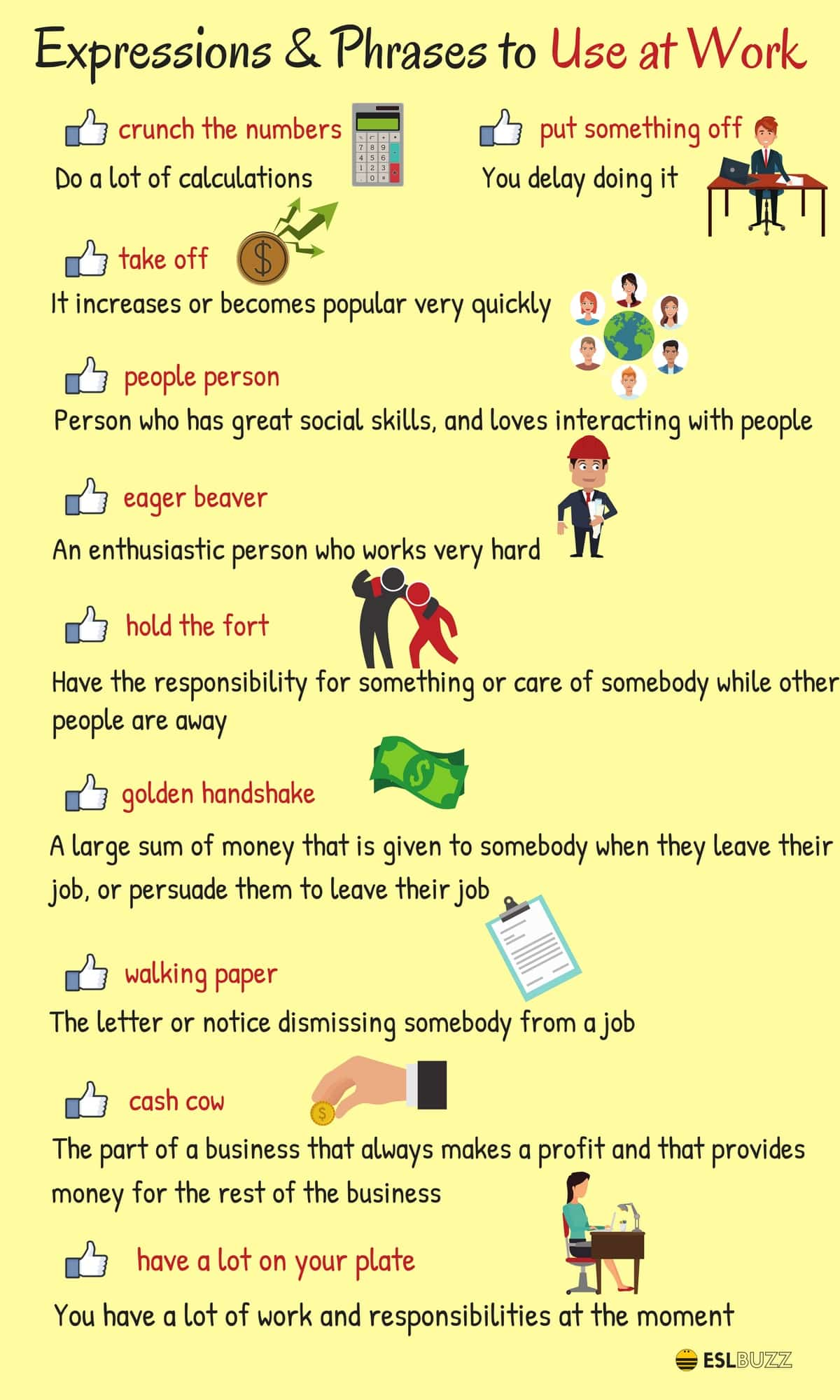 Expressionsabout Work and Employmen