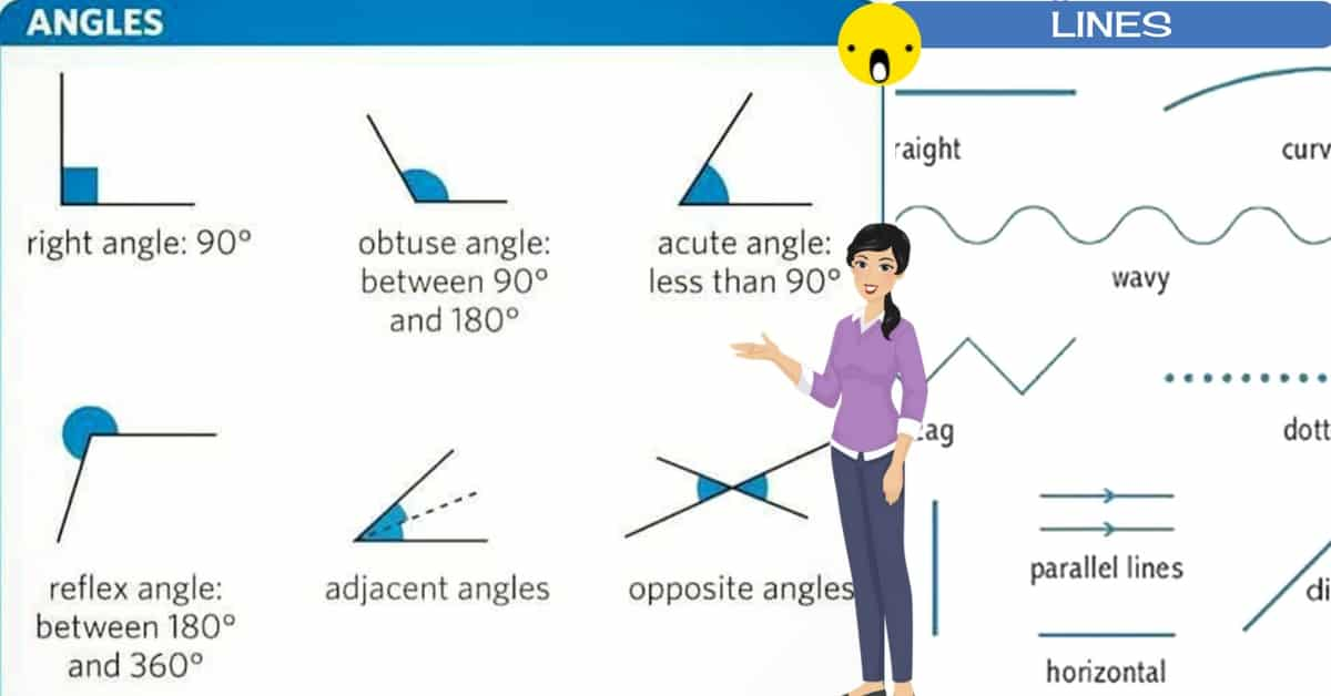 English Vocabulary: Lines and Angles 33
