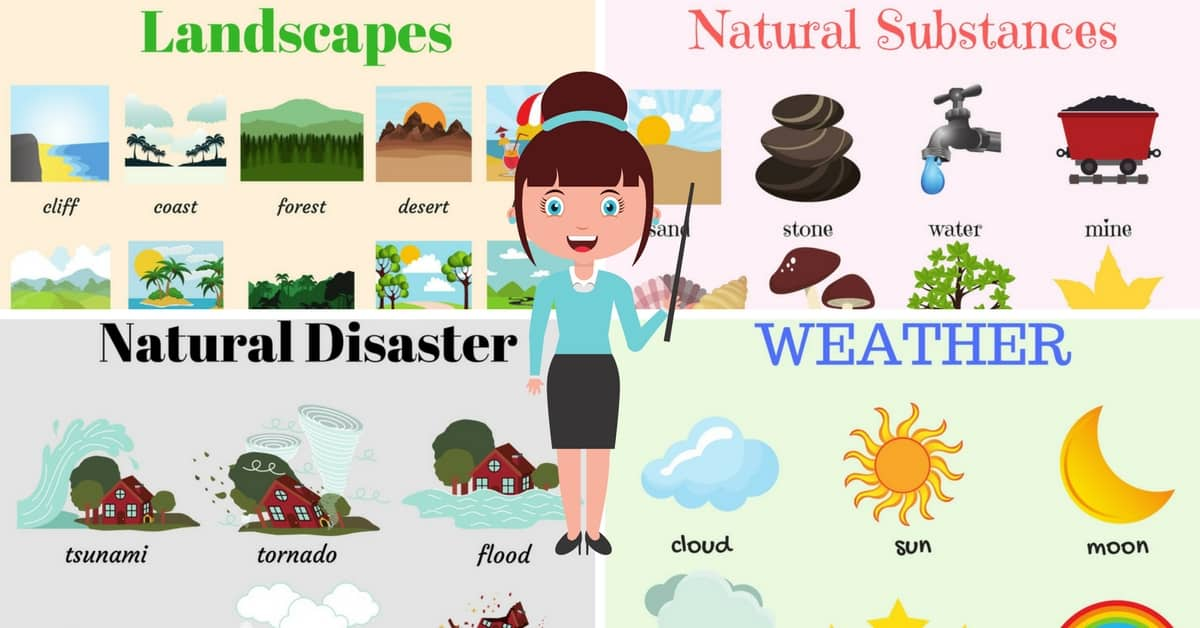 English Vocabulary: The Natural World 6