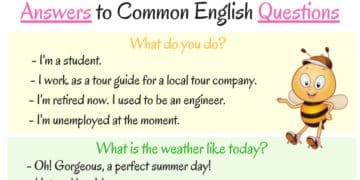 How to Ask and Answer Common Questions in English 13