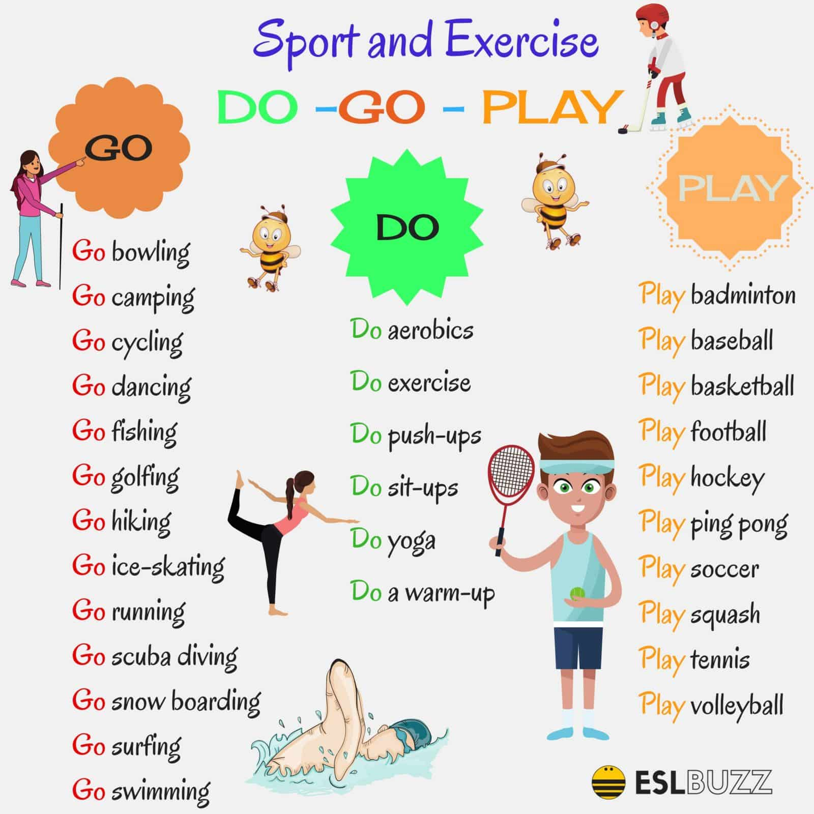 How to Use DO & GO and PLAY with Sports
