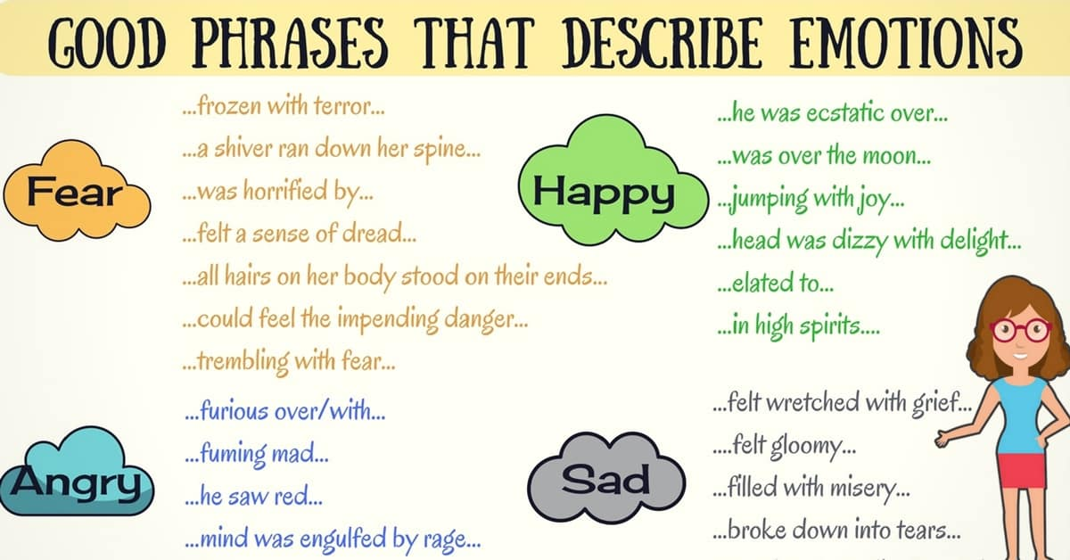 In the Mood? Useful Phrases for Better Describing How You Feel 10