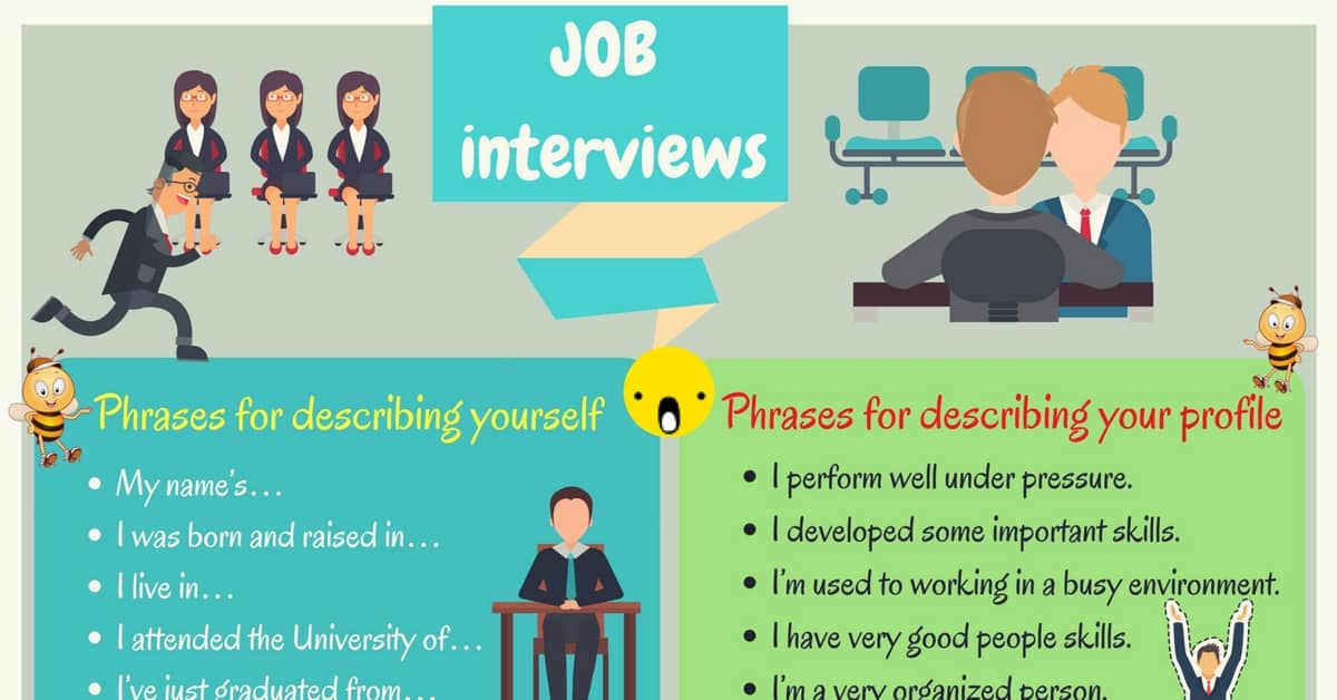 Job Interview Tips | Useful English Phrases for a Job Interview 1
